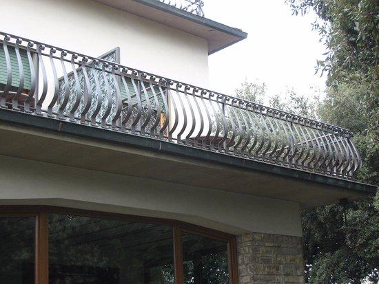 Villa Belvedere - Florence: Our balcony