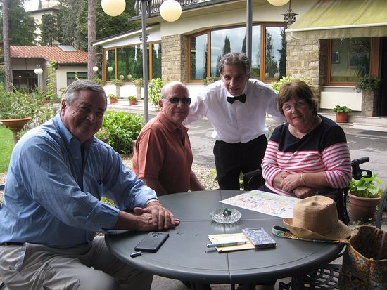 Villa Belvedere - Florence: Kerry Kelly, Vince Montagna, Marco, and Terry Montagna