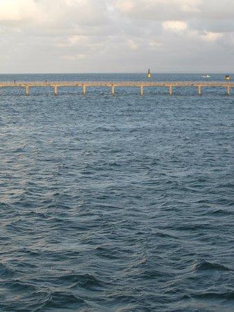 Ibis Roscoff Bord de Mer: straight ahead from room (almost)