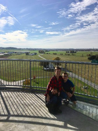 Manheim, PA: The view from the Silo Observation Tower
