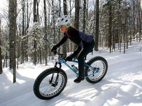 Lyndonville, VT: Fat biking on Kingdom Trails at the Wildflower Inn