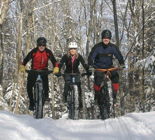 Lyndonville, VT: Fatbiking on Kingdom Trails at the Wildflower Inn
