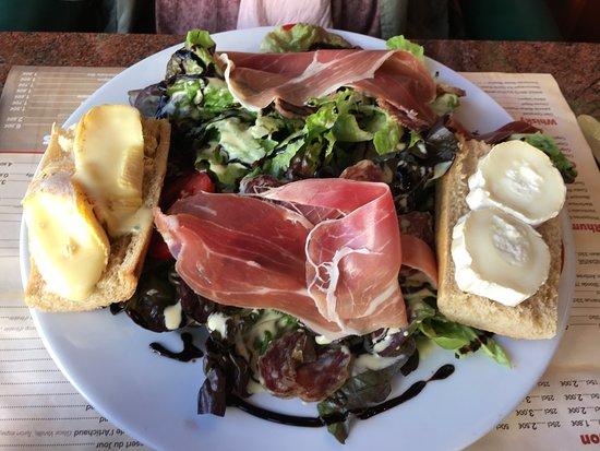 Herepian, Francia: Salade repas