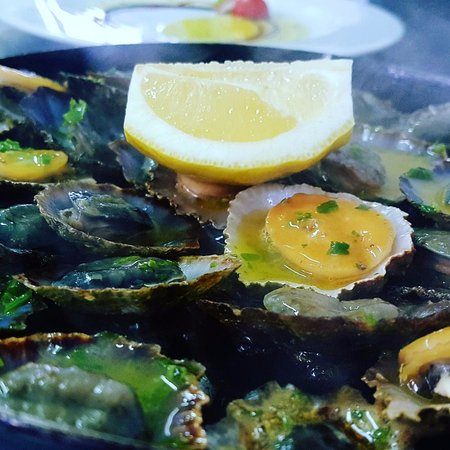 Panorama Restaurant:  Grilled Limpets