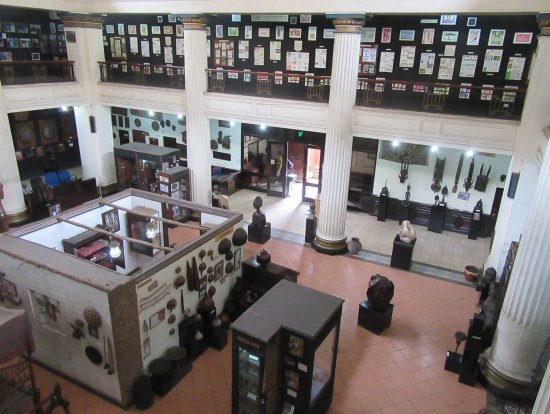 National Archives: View from the second floor.