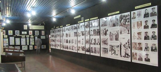 National Archives: Display on people who helped Kenya gained independence from Britain.