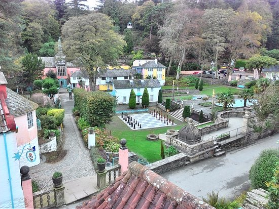 Tregarth, UK: Portmeirion: Interesting town to visit (from the old Prisoner TV show)