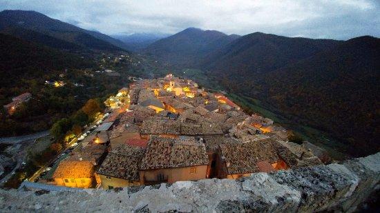 Trevi nel Lazio, Italie : Castello Caetani...