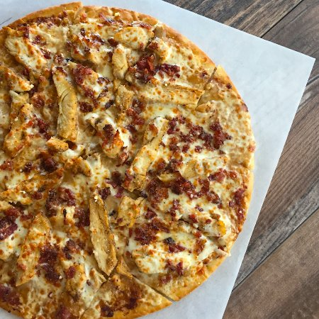 Leawood, KS: Asiago Chicken Pizza