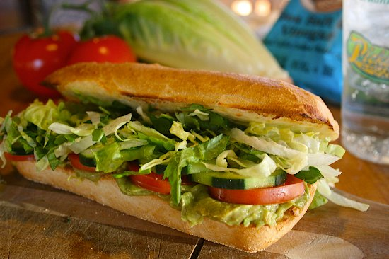 Pickleman's Gourmet Cafe: #3 Veggie Sandwich