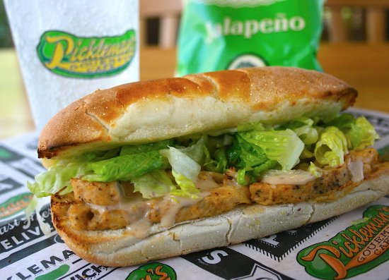 Pickleman's Gourmet Cafe: #11 Chipotle Chicken Sandwich