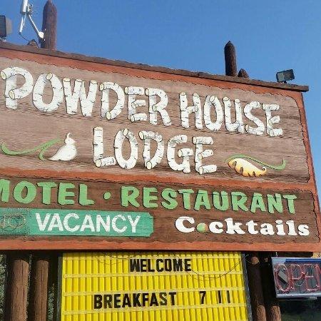 Powder House Lodge Restaurant: Motel and Restaurant