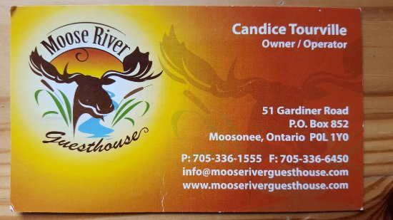 Moosonee, Canadá: Moose River Guesthouse
