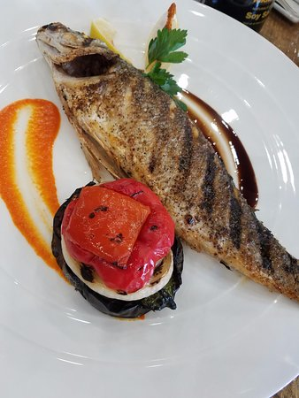 Sunny Isles Beach, FL: Branzini whole grilled fish
