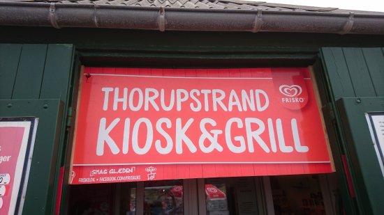 Thorup Strand, Danmark: Kiosk
