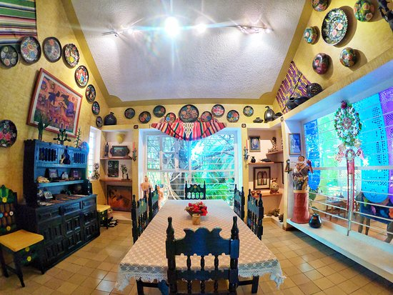 San Andres Huayapam, Mexiko: Dining Room of Main House