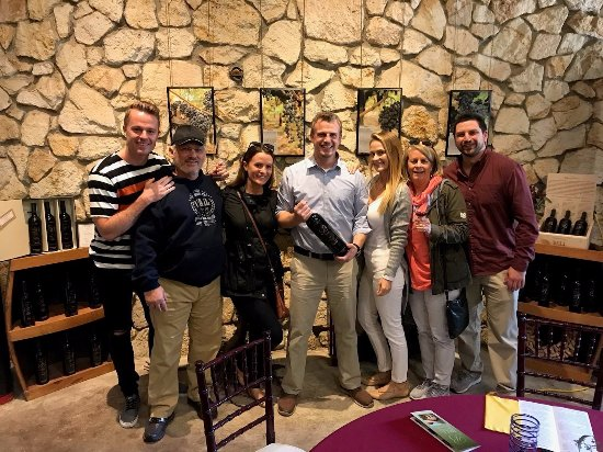 Yountville, Kalifornien: Group photo with Jan