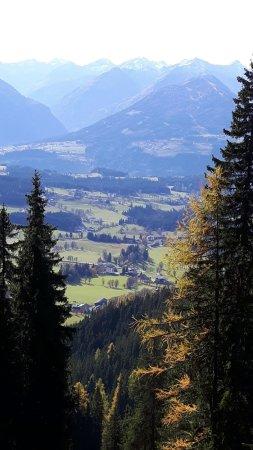 Dachstein Sudwand: schon weit oben