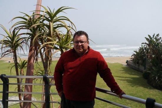 Beach Lodge Swakopmund: На балконе.