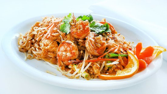 Soquel, Kaliforniya: Shrimp Pad Thai