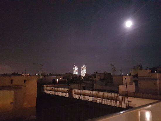 Hotel Ciutat de Barcelona : Vista do Terraço