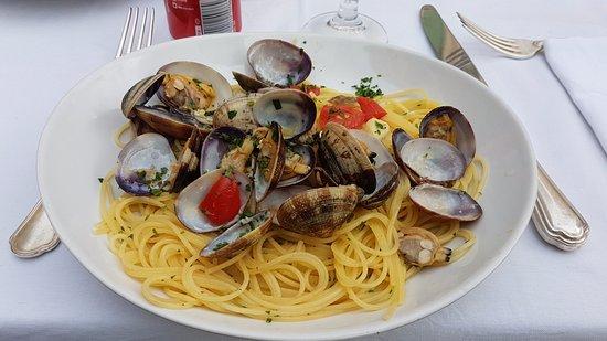 Ristorante Bri: Spaghetti alle vongole