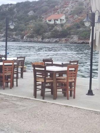 Γέρακας, Ελλάδα: Seating outside or inside
