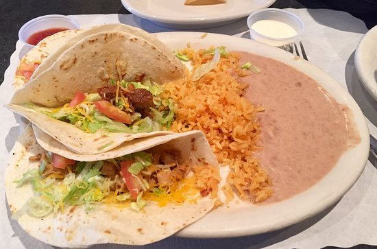 Dallas, PA: Mixed Soft Tacos - Steak, Chicken and Pork