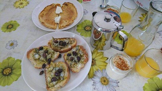 Pansion Limni: Tolles Frühstück