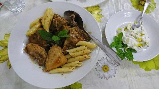 Pansion Limni: Abendessen