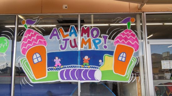 Alamogordo, NM: Outside Alamo Jump!