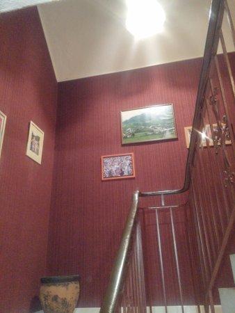 Montory, Francja: Detalle de la escalera