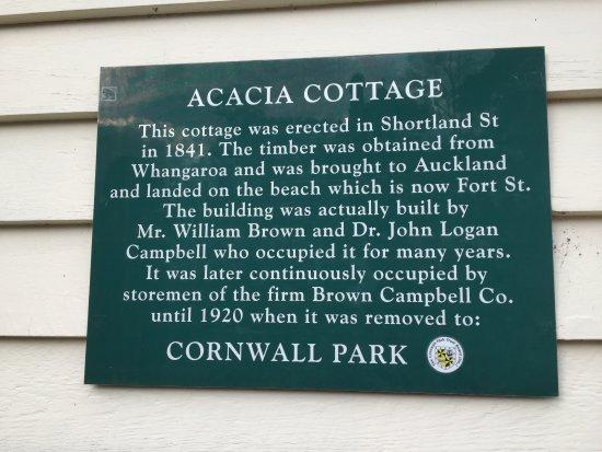 Parque Cornwall: acacia cottage
