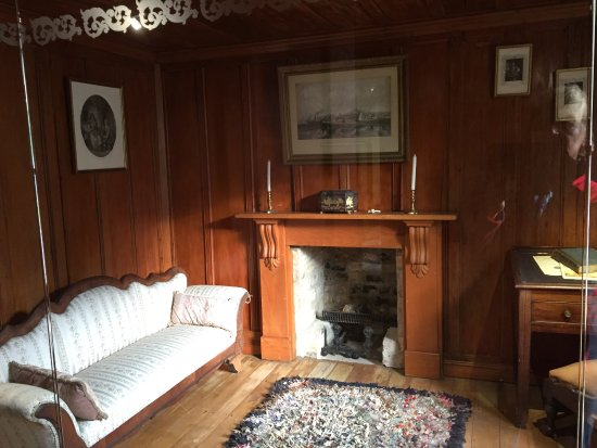 Parque Cornwall: inside the cottage