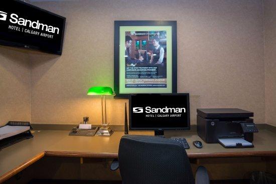 Sandman Hotel Calgary Airport: Business Centre