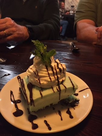 Lake City, CO: Grasshopper pie!