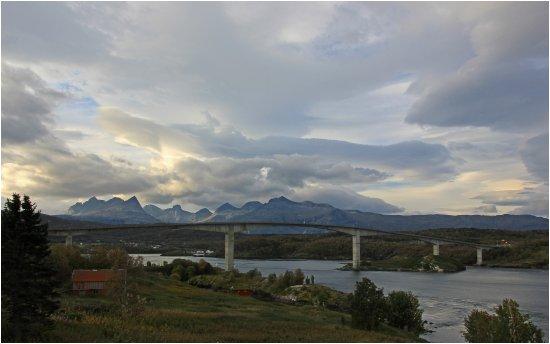 Utsikten fra Saltstraumen hotel