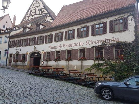 Klosterbrau Bamberg Gaststatte : Der Eingang