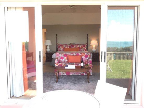 "Cambridge Beaches: Room ""skeeters"" from patio"
