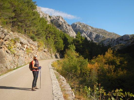 Starigrad-Paklenica, Croácia: La strada verso il Parco