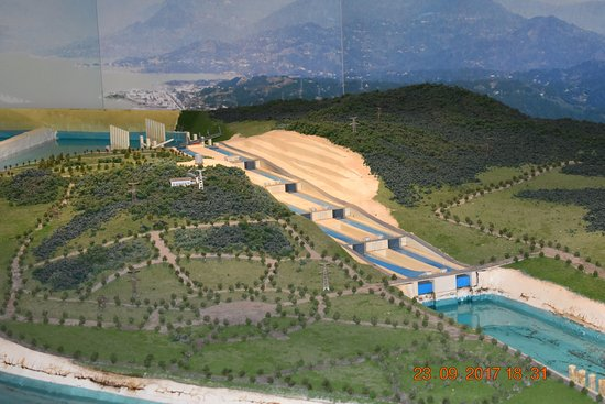 Three Gorges Museum : Model of the locks