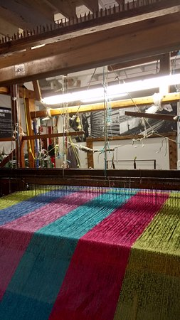 Avoca, Irlandia: Weaving loom