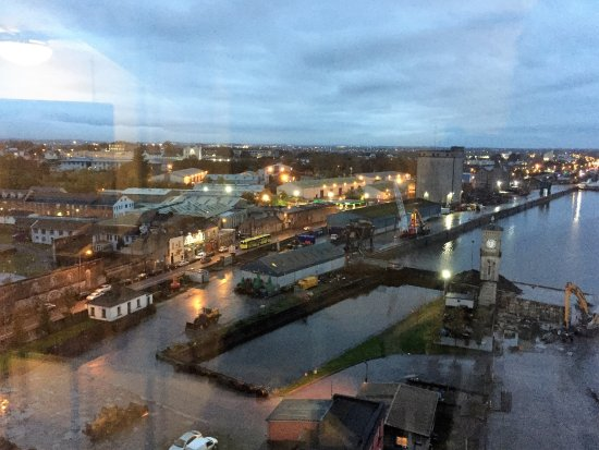 Clayton Hotel Limerick: view from 14th floor room