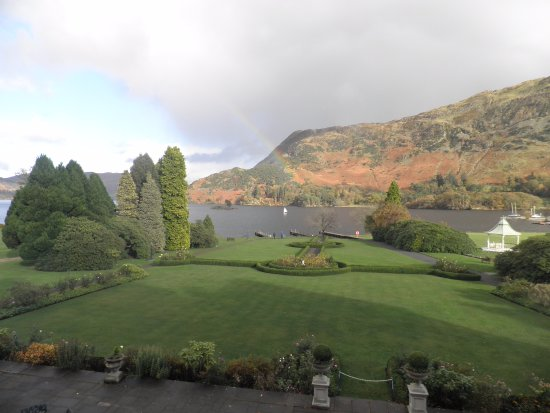Glenridding, UK: View from a balcony room overlooking Ullswater.