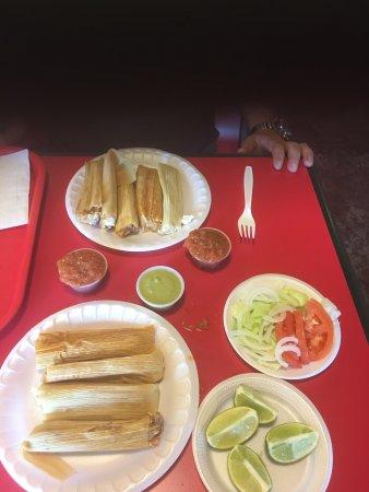Edinburg, TX: Delia's Tamales