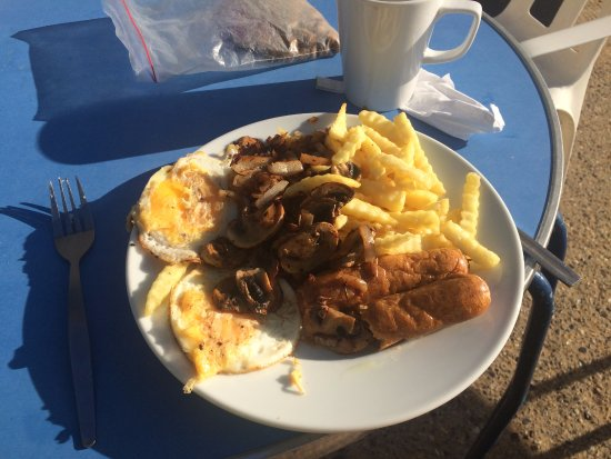 Broadstairs, UK: BREAKFAST