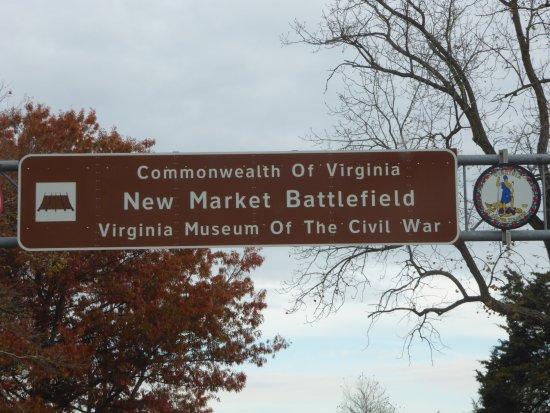 New Market, VA: Sign