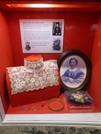 Mother of the New Market Cadets exhibit