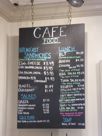 New Market, VA: Menu