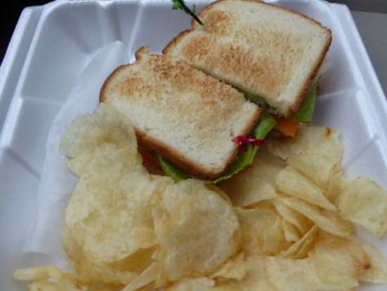 New Market, VA: BLT with Cheese and Chips